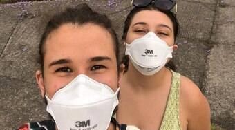 Voluntários ajudam a encontrar as máscaras mais eficazes