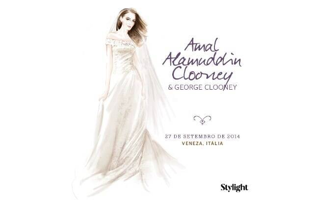 Vestido de noiva: Amal Alamuddin Clooney