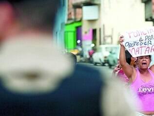 Bairro Calafate. Moradores protestaram nesta semana contra ação policial