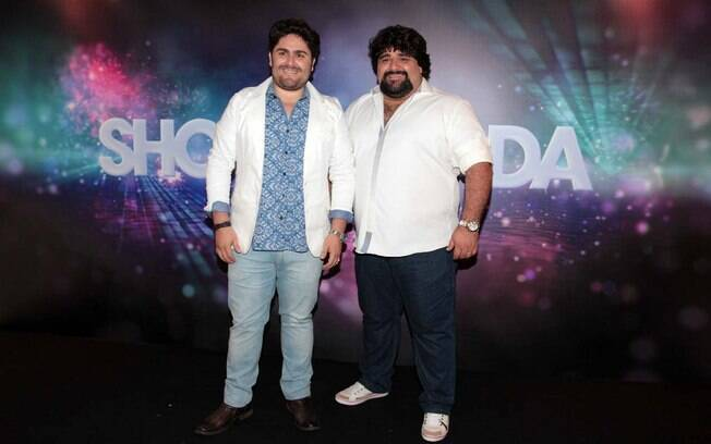 César Menotti e Fabiano no Show da Virada 2013