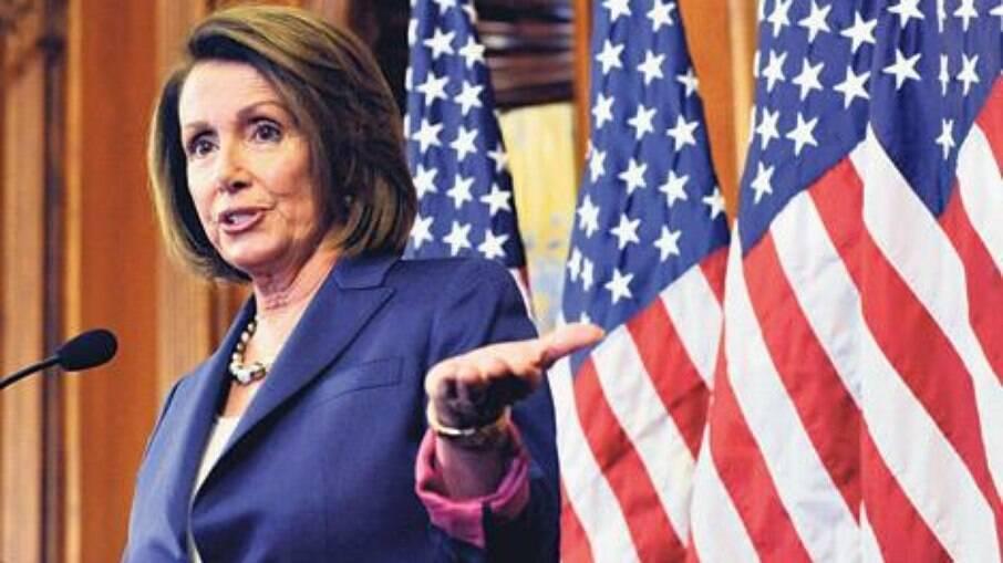 Nanci Pelosi, líder da Câmara dos Representates