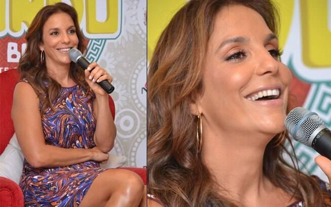 Cantora Ivete Sangalo quer mais um filho: