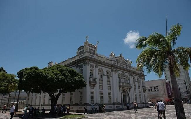 Palácio Museu Olímpio Campos, que costumava ser a residência oficial dos ganhadores da eleição em Sergipe para governador