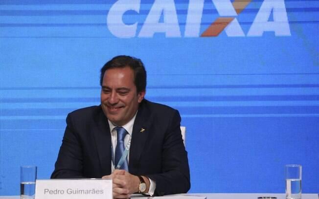 Presidente da Caixa, Pedro Guimarães anunciou nova modalidade de financiamento imobiliário que será reajustado pela inflação