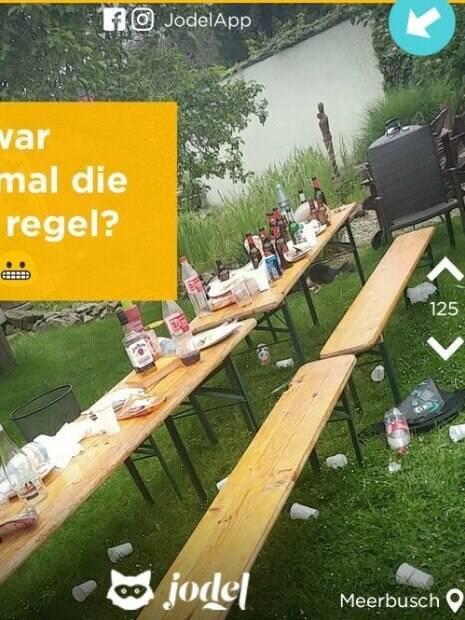 Foto publicada pelo aplicativo alemão Jodel divide mais uma vez a internet