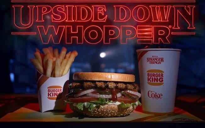 Upside Down Whopper será servido a partir de 21 de junho em restaurantes selecionados dos EUA