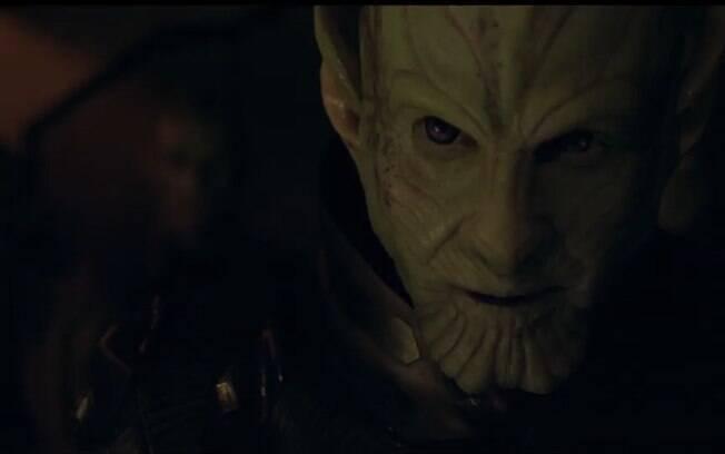 Um Skrull em destaque