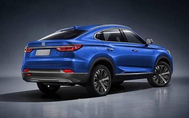 Com a queda na traseira, imitando os cupês mais caros, o novo SUV da Fiat quer se diferenciar de outros modelos da FCA