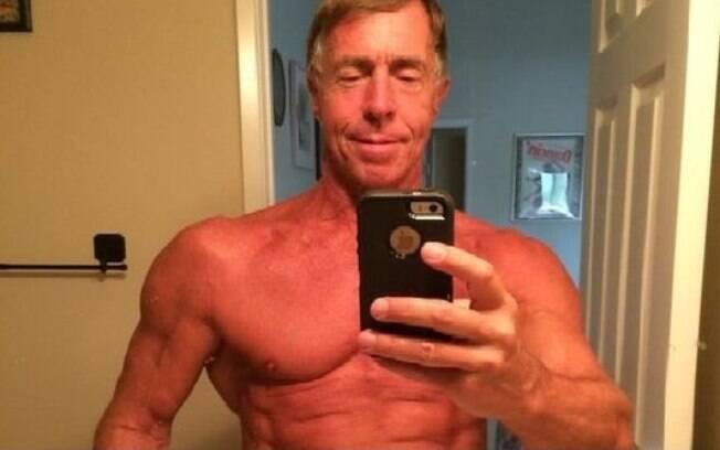 Selfie de Doug Graham postada em 27 de julho