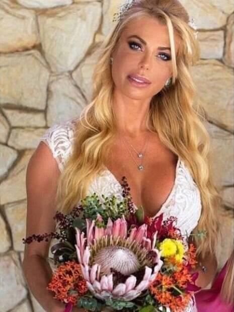 Fotos do casamento de Caroline Bittencourt