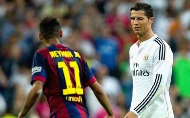 Neymar e Cristiano Ronaldo