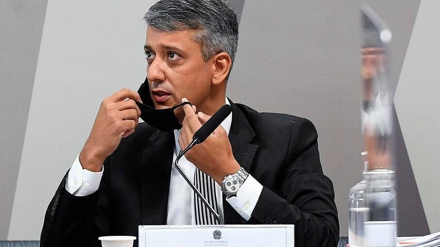Ex-diretor de logística do Ministério da Saúde, Roberto Ferreira Dias