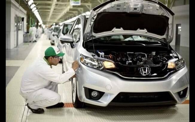 Honda Fit é o primeiro modelo da marca japonesa a começar a ser montado em Itirapina (SP)