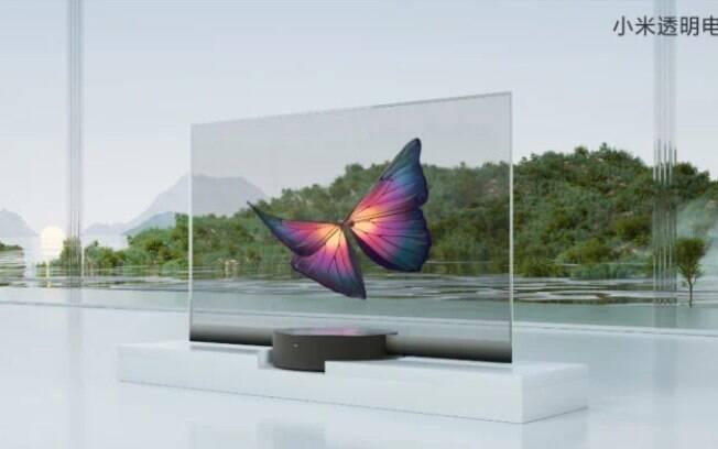 Xiaomi lança televisão transparente