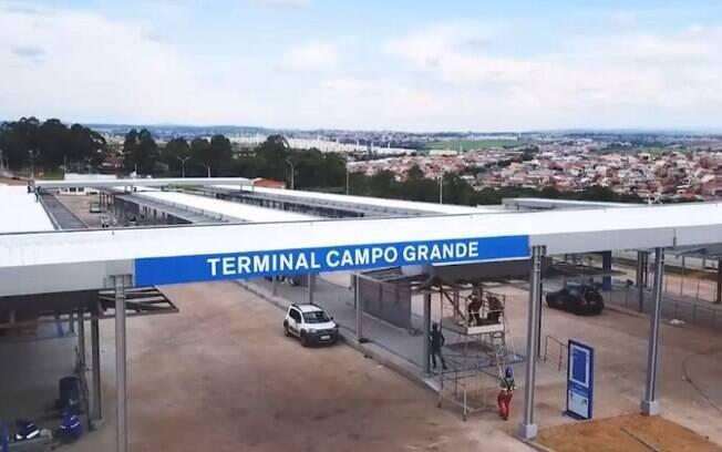 Prefeitura entrega terminal do BRT Campo Grande