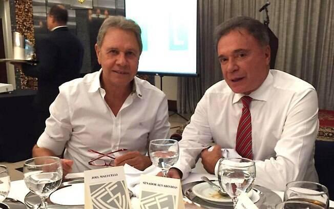 Joel Malucelli é amigo pessoal e suplente licenciado do candidato à Presidência da República Álvaro Dias (Podemos)