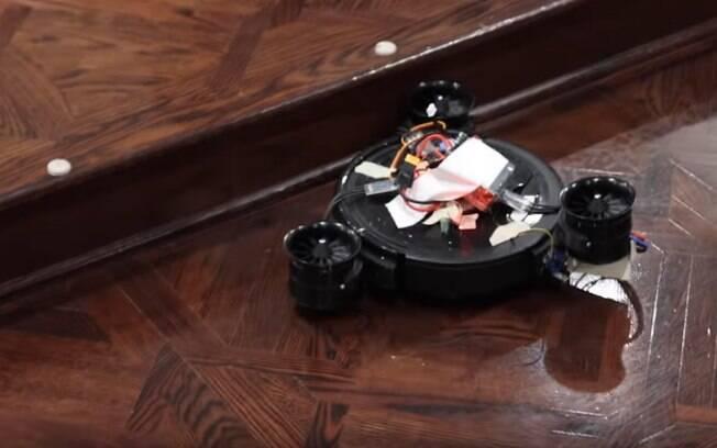 robô-aspirador