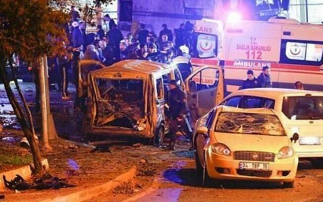 O atentado ocorreu em uma casa noturna de Istambul na noite de Ano Novo