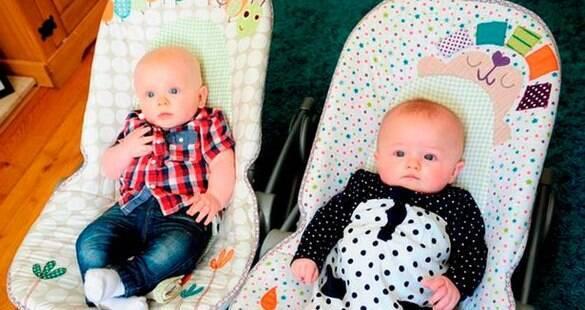 Juntas há quatro anos, lésbicas têm filhos com três semanas de diferença
