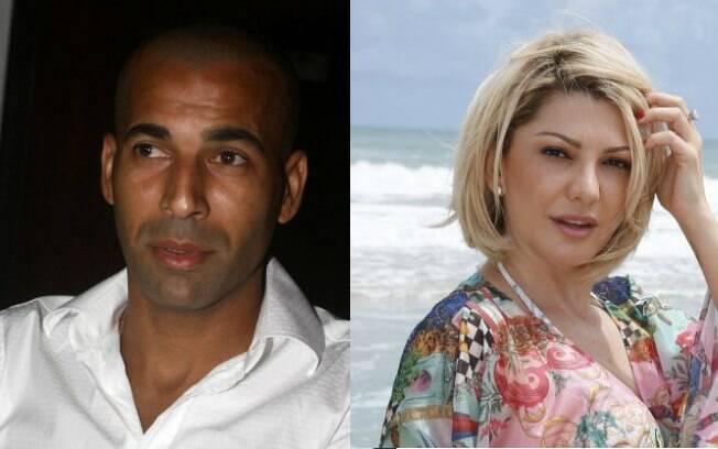 Emerson Sheik e Antonia Fontenelle: romance há um mês