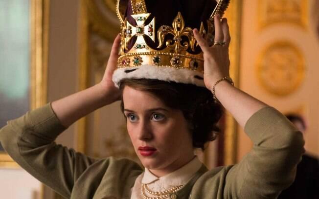 Clarie Foy venceu o prêmio de melhor atriz em série de drama por