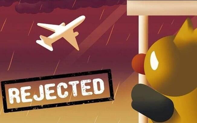 Paquistaneas criaram um jogo que simula a rejeição na embaixada dos EUA