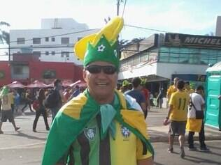 Alberto Clemente esperava voltar de ônibus e chegar em casa antes do jogo do Brasil