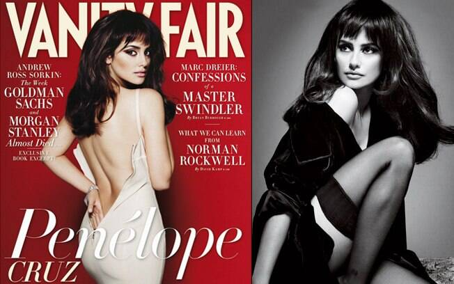 A foto usada para a campanha é bem antiga e foi retirada de um ensaio que a atriz fez para a revista Vanity Fair, em 2009