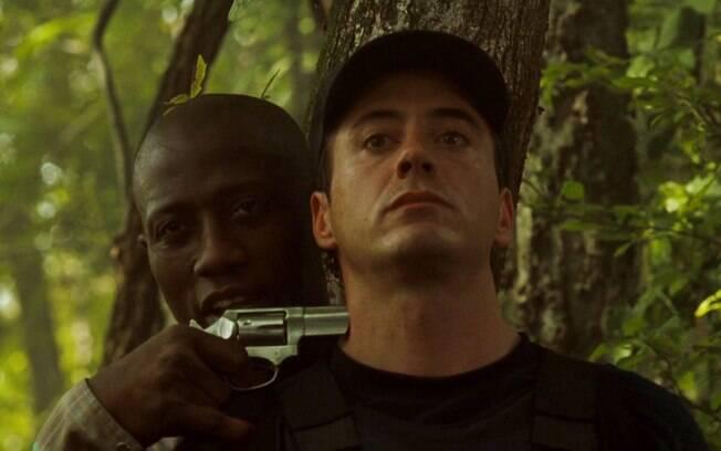 Imagem do filme 'U.S. Marshals - Os Federais' (1998) . Foto: Divulgação