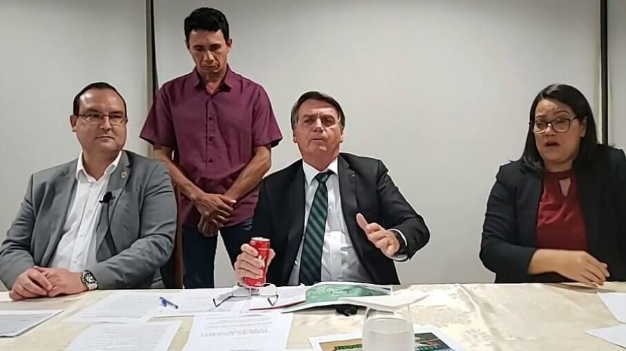 Live do presidente Jair Bolsonaro