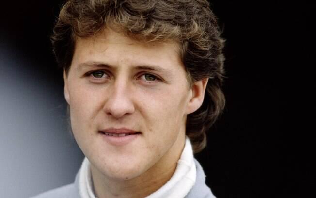 Em 1991, Michael Schumacher, com 22 anos, fez sua temporada de estreia na Fórmula 1. Foto: Getty Images