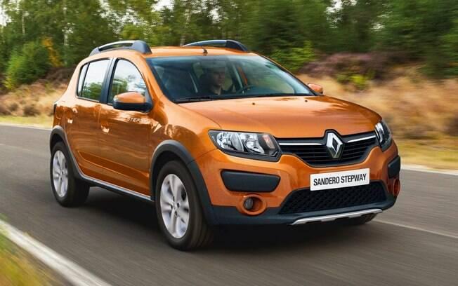 Claro que uma lista de aventureiros seminovos não poderia ficar sem a presença do Renault Sandero Stepway