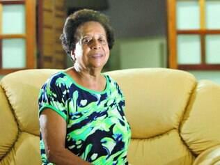 Vontades.  Edith Pereira, que era auxiliar de enfermagem,   gosta mesmo é de viajar e  comprar roupas