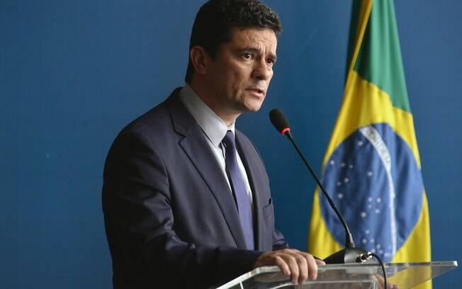 Sérgio Moro defendeu o pacote anticrime em reunião ministerial