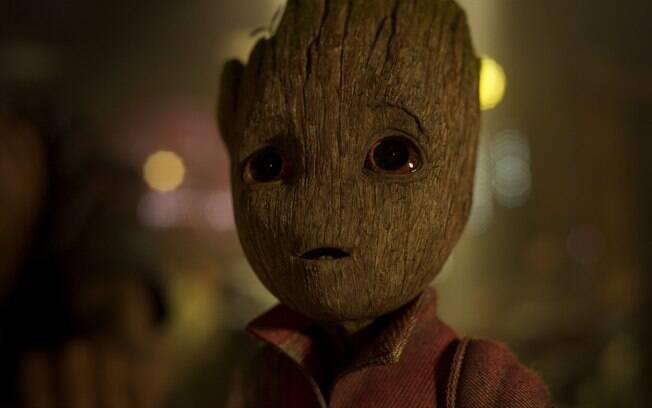 Baby Groot rouba todas as cenas em que aparece em Guardiões da Galáxia VOL. 2