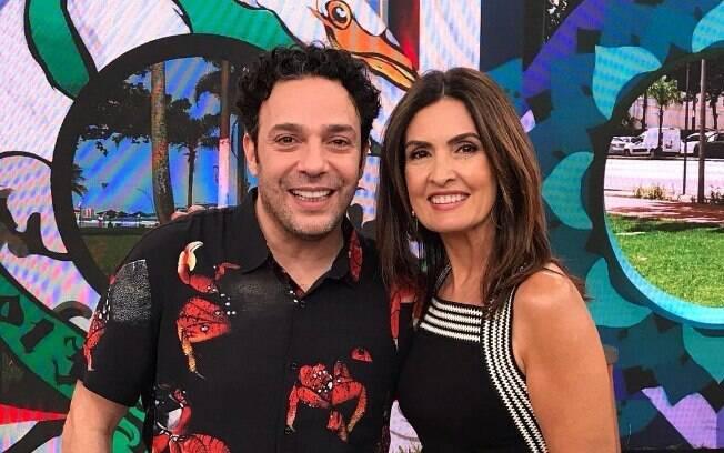 Marcelo Médici e Fátima Bernardes no