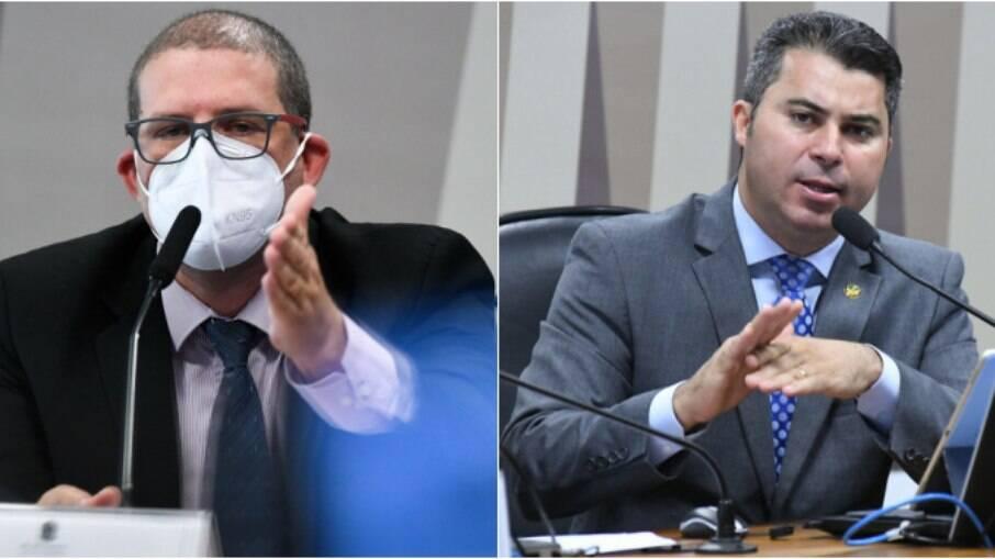 Pedro Hallal e Marcos Rogério