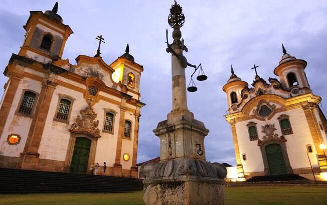 Tanto Mariana como sua vizinha, Ouro Preto, têm muito valor para agregar à Rota do Ouro em Minas Gerais