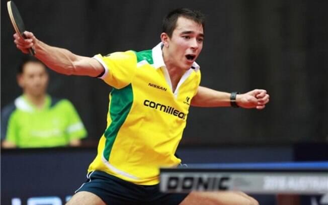 Hugo Calderano tem feito história no tênis de mesa