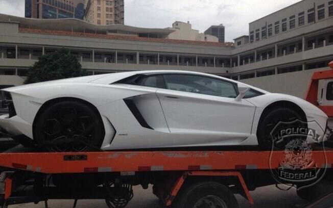 Lamborghini Aventador, avaliado em R$ 2,24 milhões, de Eike Batista, não teve comprador