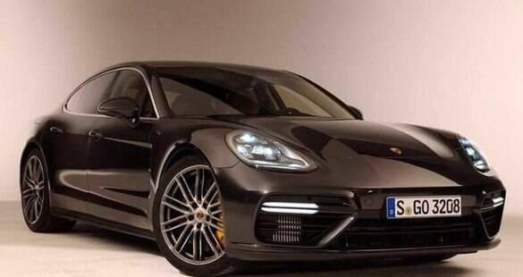 Vazam fotos do novo Porsche Panamera