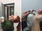 Menina resgata pombo machucado e viraliza nas redes