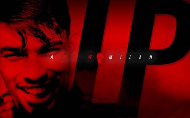 O Milan anunciou oficialmente a contratação de Lucas Paquetá até 2023