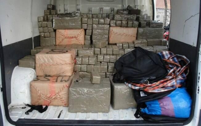 Quadrilha seria responsável por 1,6 tonelada de haxixe apreendida este ano em João Pessoa