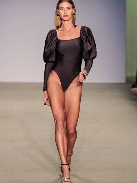 Renata Kuerten no  São Paulo Fashion Week