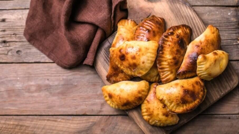 As empanadas argentinas são servidas como entrada ou lanches