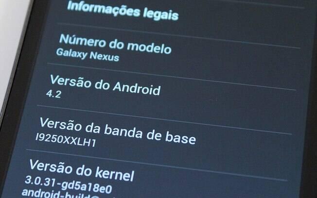 Android - Identificação de versão