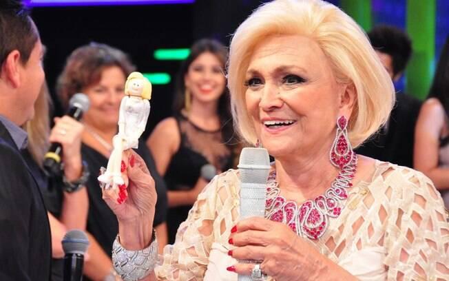 Hebe Camargo: ótima recuperação