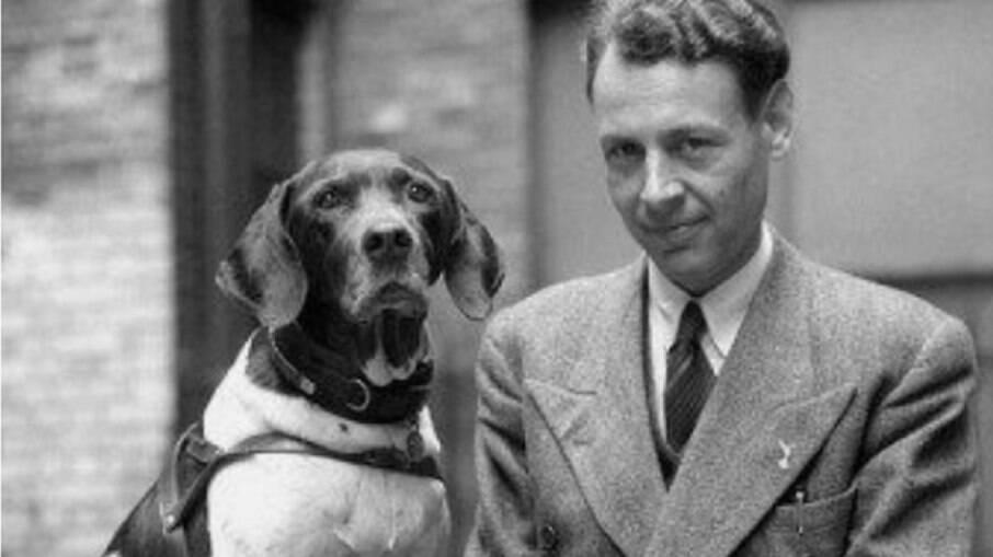 Frank Williams e Judy, após o fim da Segunda Guerra Mundial