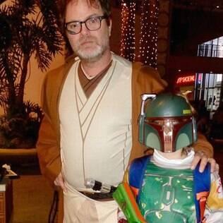 O ator Rainn Wilson também entrou na onda